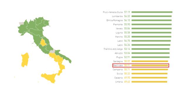 EF EPI 2016 - La situazione in Basilicata
