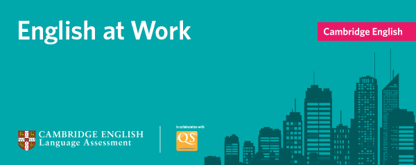 English at work: the first global, cross-industry overview of English language skills at work.